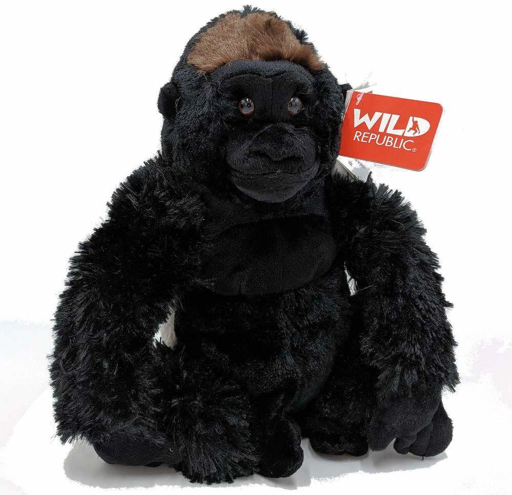 Wild Republic pluszowy goryl srebrne plecy, Cuddlekiny, pluszowe zwierzątko, 30 cm