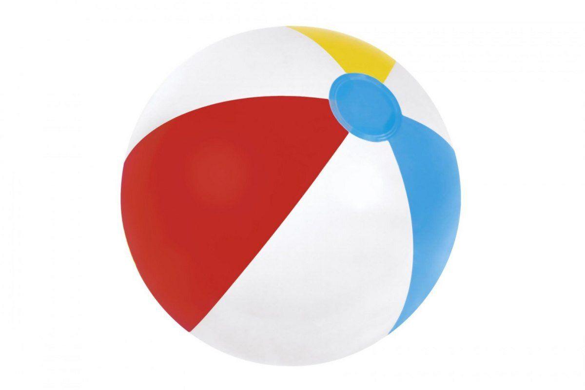 Piłka dmuchana plażowa kolorowa 51 cm BESTWAY 31021