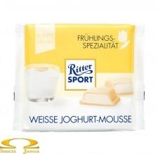 Czekolada Ritter Sport Weisse Joghurt-Mousse 100g