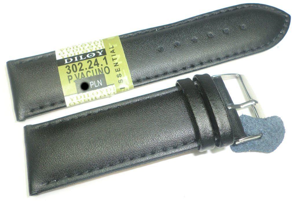 Skórzany pasek do zegarka 24 mm Diloy 302.24.1