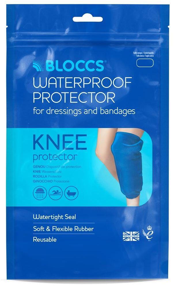 Wodoodporna osłona na kolano dla dorosłych - na opatrunek, gips i ortezę Bloccs (Waterproof Knee Protector)