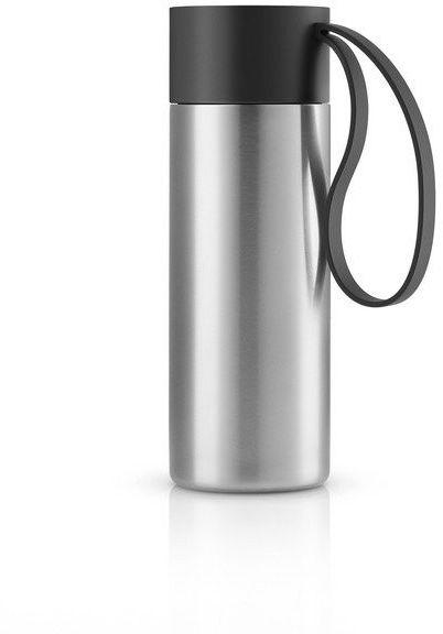 Eva solo - to go cup kubek termiczny 0,35 l, troczek czarny
