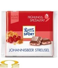 Czekolada Ritter Sport Johannisbeer Strusel 100g