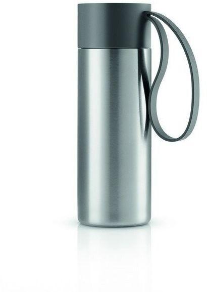 Eva solo - to go cup kubek termiczny 0,35 l, troczek szary