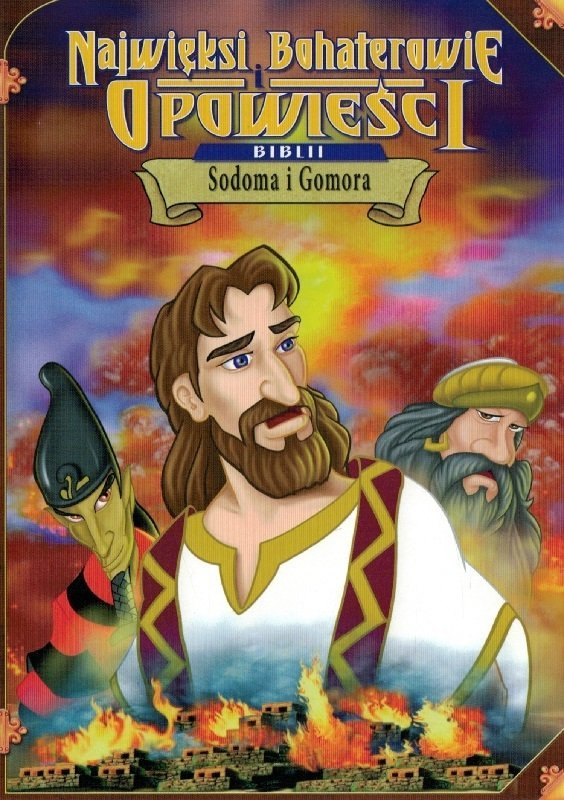 Sodoma i Gomora - Najwięksi bohaterowie i opowieści Biblii - DVD