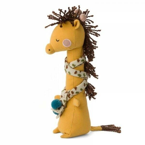 Picca LouLou - Picca Loulou - Przytulanka Żyrafa Danny w Szaliczku 30 cm
