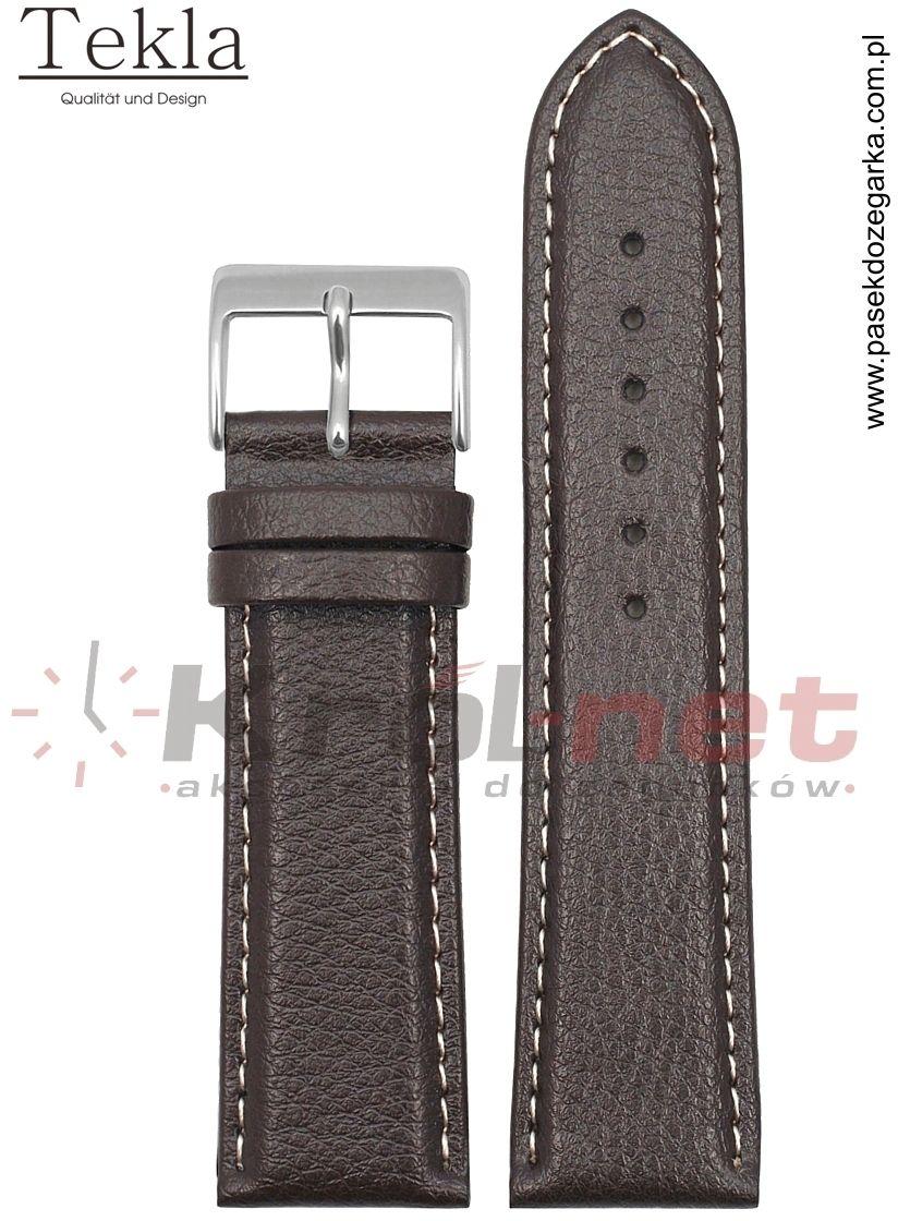Pasek TK123BR/24 - brązowy