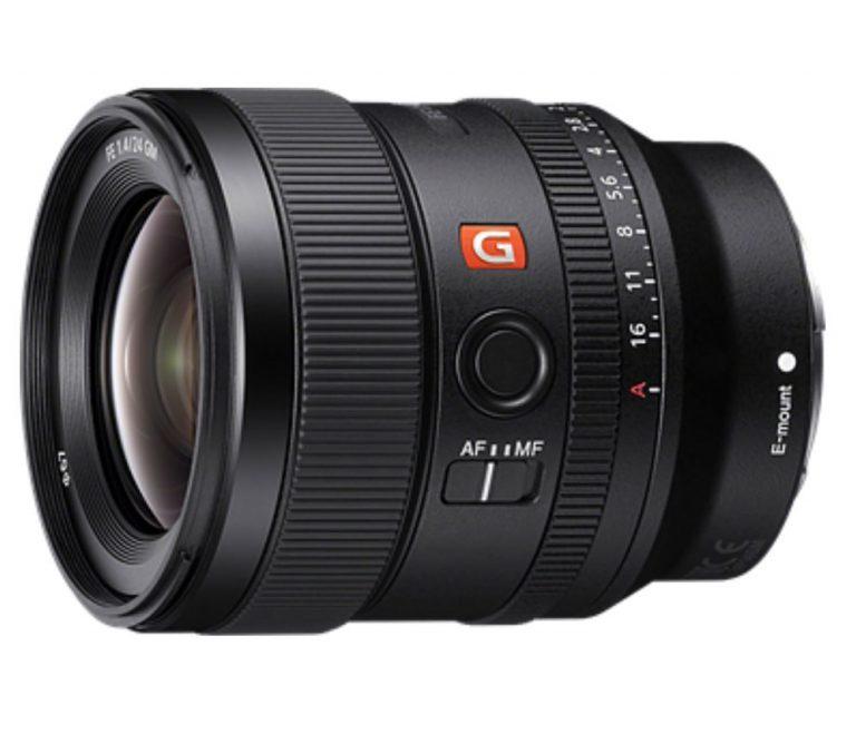 Sony FE 24mm F1.4 GM - obiektyw stałoogniskowy, SEL24F14GM Sony SEL24F14GM