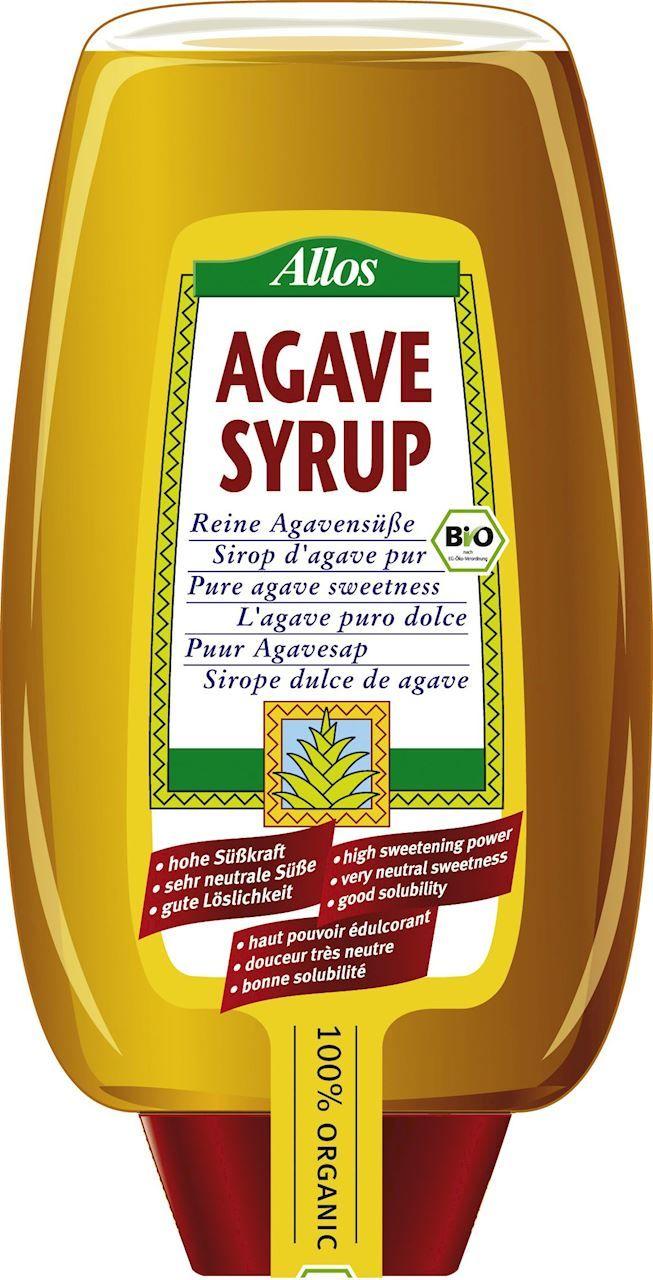 Syrop z agawy bio 690 g 500 ml - allos