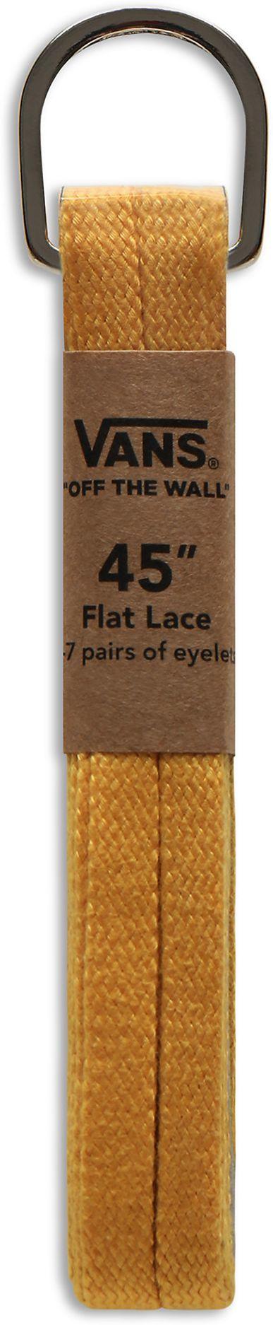 sznurowadła VANS FLAT LACES 45 Sulphur