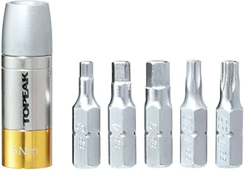 TOPEAK Nano TORQBOX narzędzia rowerowe, unisex, dorośli, unisex_dorośli, TT2562, szary/żółty, jeden rozmiar