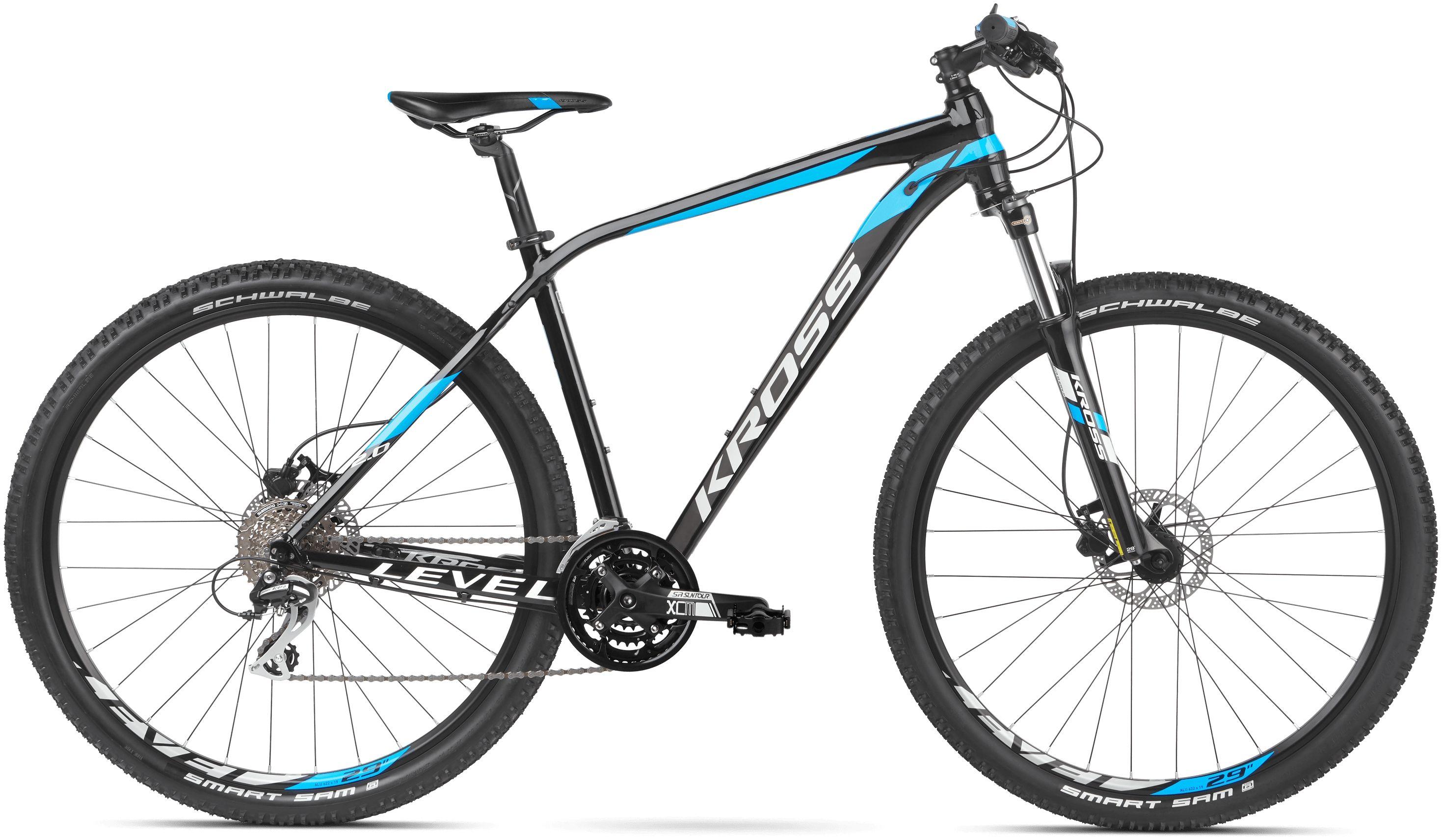 Rower Kross LEVEL 2.0 29 czarny 2020