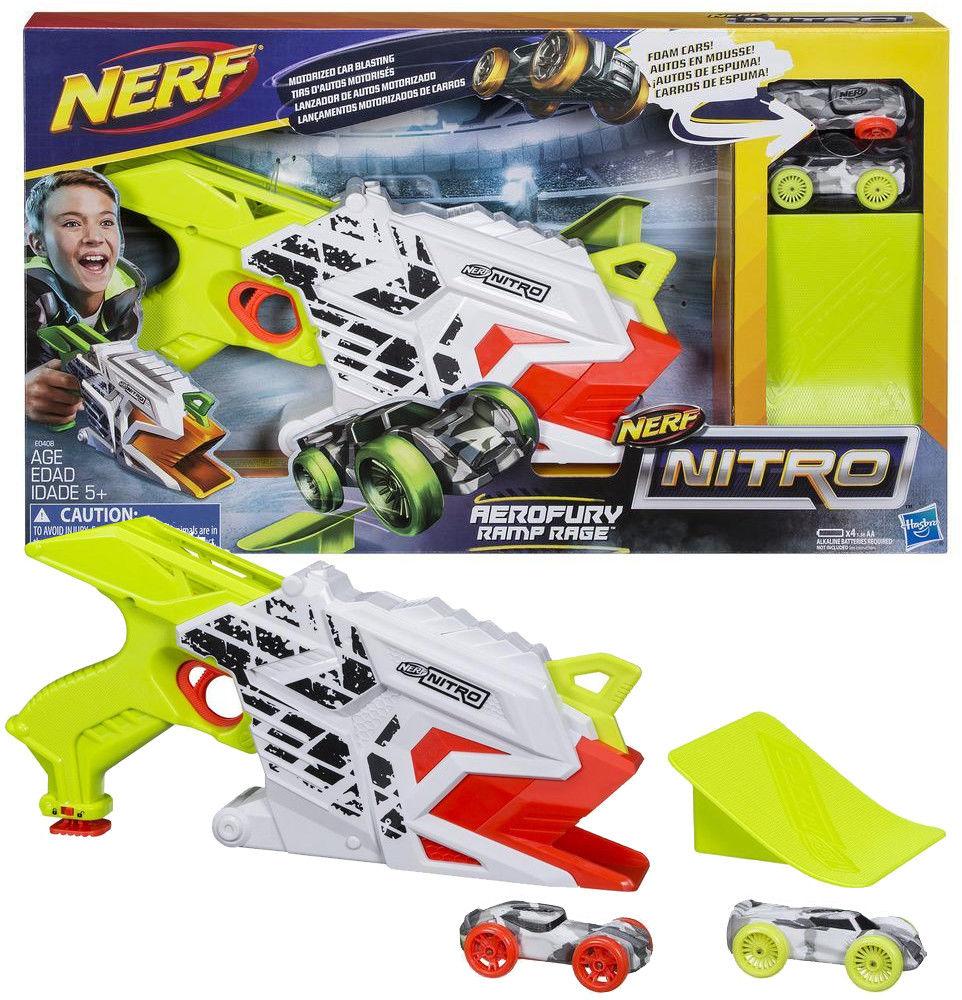 Hasbro Nerf Nitro - Wyrzutnia Aerofury Ramp Rage E0408