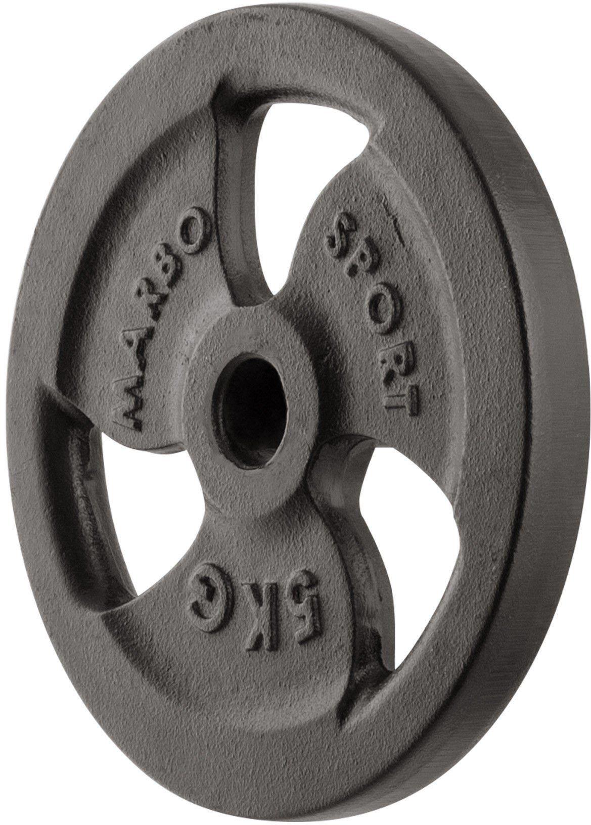 Obciążenie żeliwne 5 kg MW-O5-kier - Marbo Sport