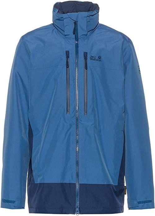 mount; hiking; men''s; waterproof; indigo; 1112651; blue; elgon; men; jackets; camping; jack; raining; 4060477464152; jacket; wolfskin
