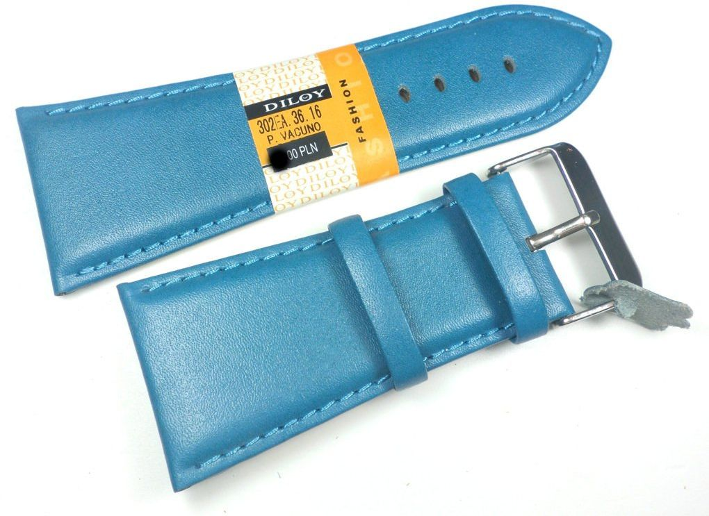 Skórzany pasek do zegarka 36 mm Diloy 302EA.36.16