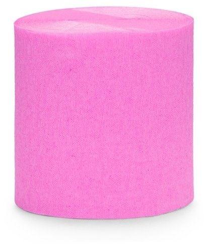 Krepa dekoracyjna różowy 5cm 10m 4 szt. KREP1-081