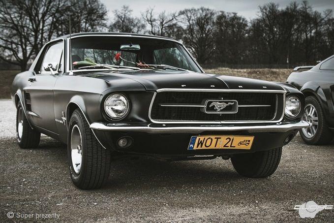 Jazda Fordem Mustangiem za kierownicą Warszawa