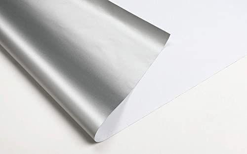 GARDINIA Termiczna osłona przeciwsłoneczna do okien dachowych, nie przepuszcza światła, z taśmą na rzepy, łatwy montaż bez pozostałości, biała, 95 x 120 cm (szer. x wys.)
