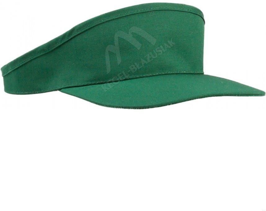 Czapka daszek zielony
