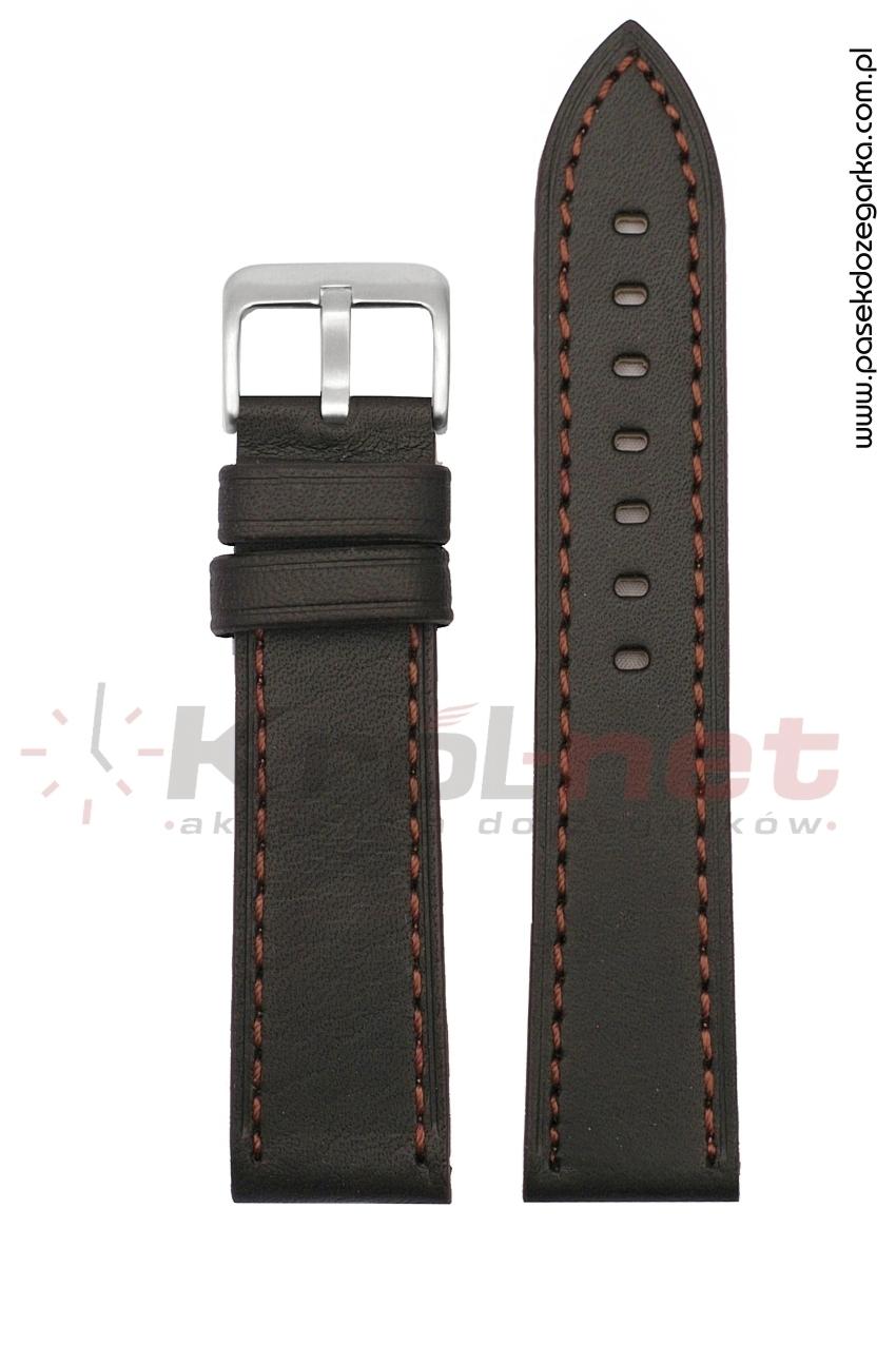 Pasek TK104BR/24 - brązowy