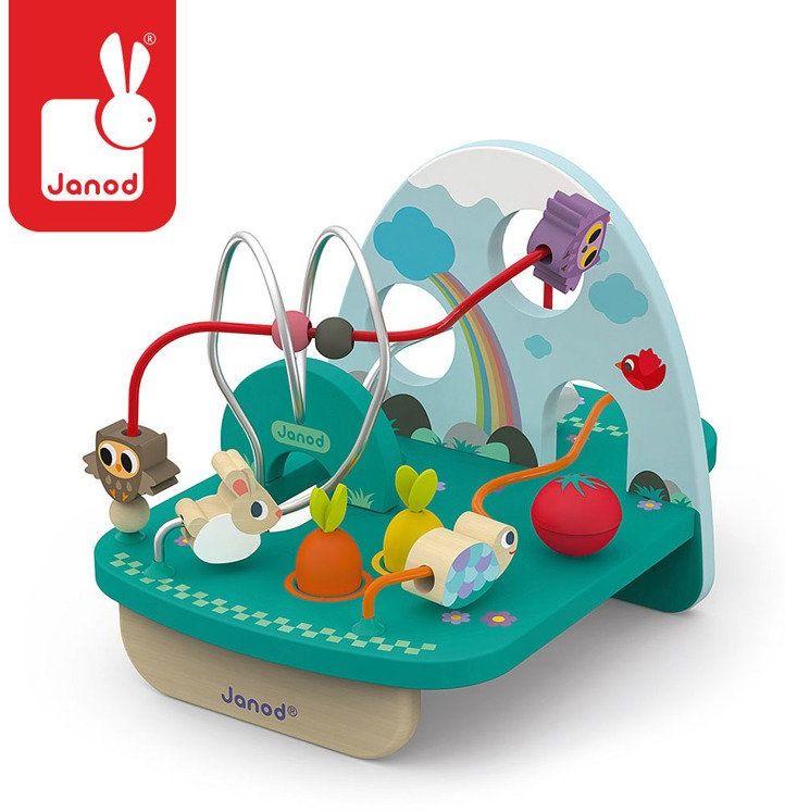 Pętla edukacyjna Królik i spółka J08254- Janod, zabawki rozwojowe