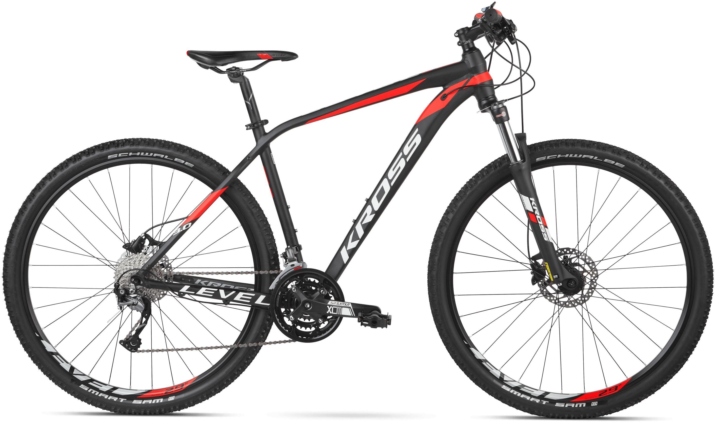 Rower Kross LEVEL 3.0 27,5 czarno-czerwony...