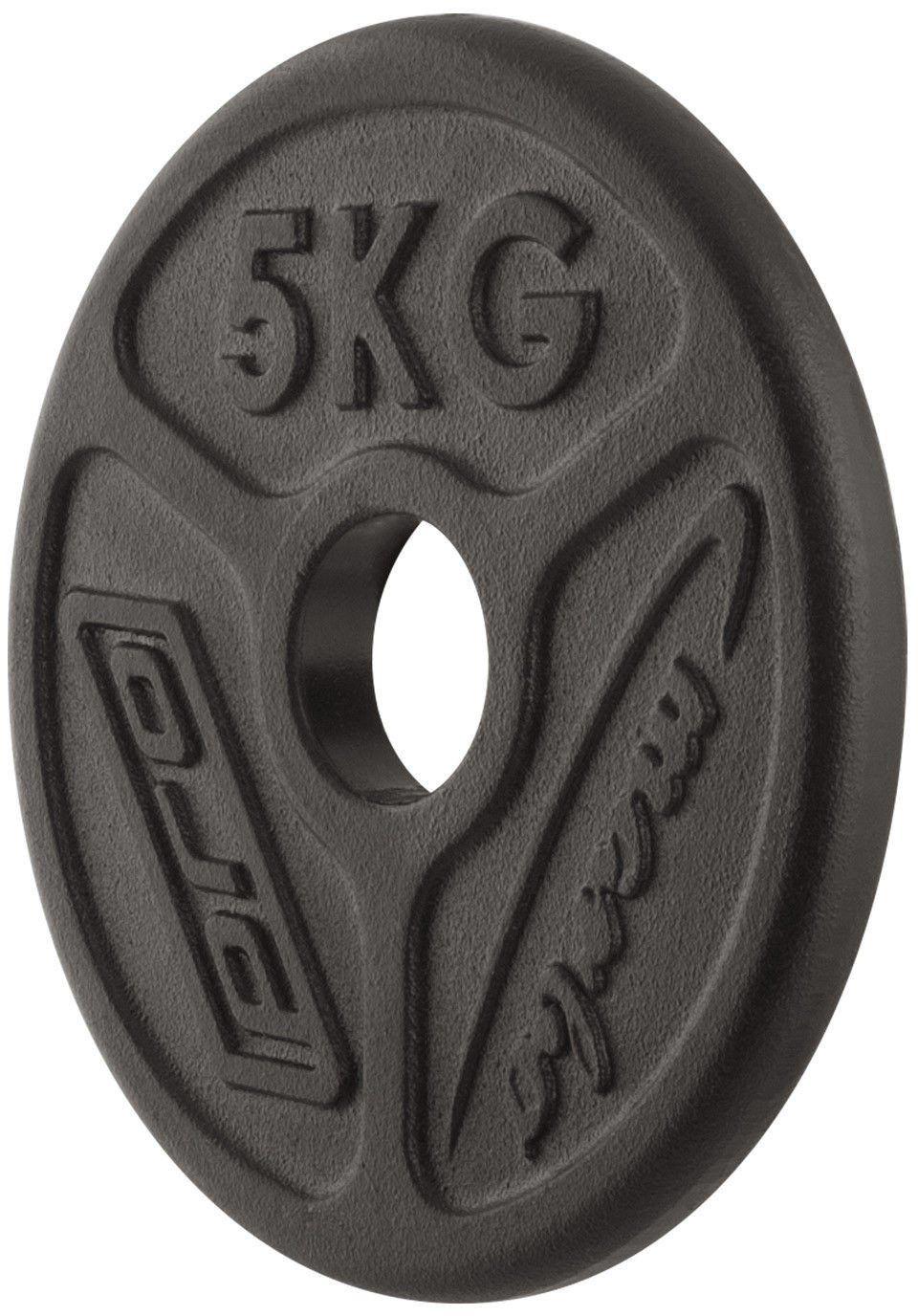 Obciążenie olimpijskie żeliwne 5kg MW-O5-OLI - Marbo Sport