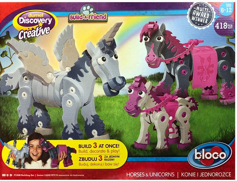 Dumel Discovery Creatives - Bloko Konie i Jednorożce 25006