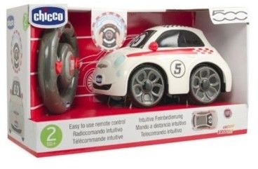 Chicco - Auto zdalne sterowane Fiat 500 Sport RC 07275