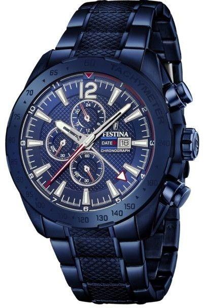 Zegarek Festina F20442-1 Prestige Chronograph - CENA DO NEGOCJACJI - DOSTAWA DHL GRATIS, KUPUJ BEZ RYZYKA - 100 dni na zwrot, możliwość wygrawerowania dowolnego tekstu.