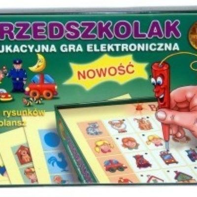 Gra elektroniczna Przedszkolak Wiem Wszystko JAWA