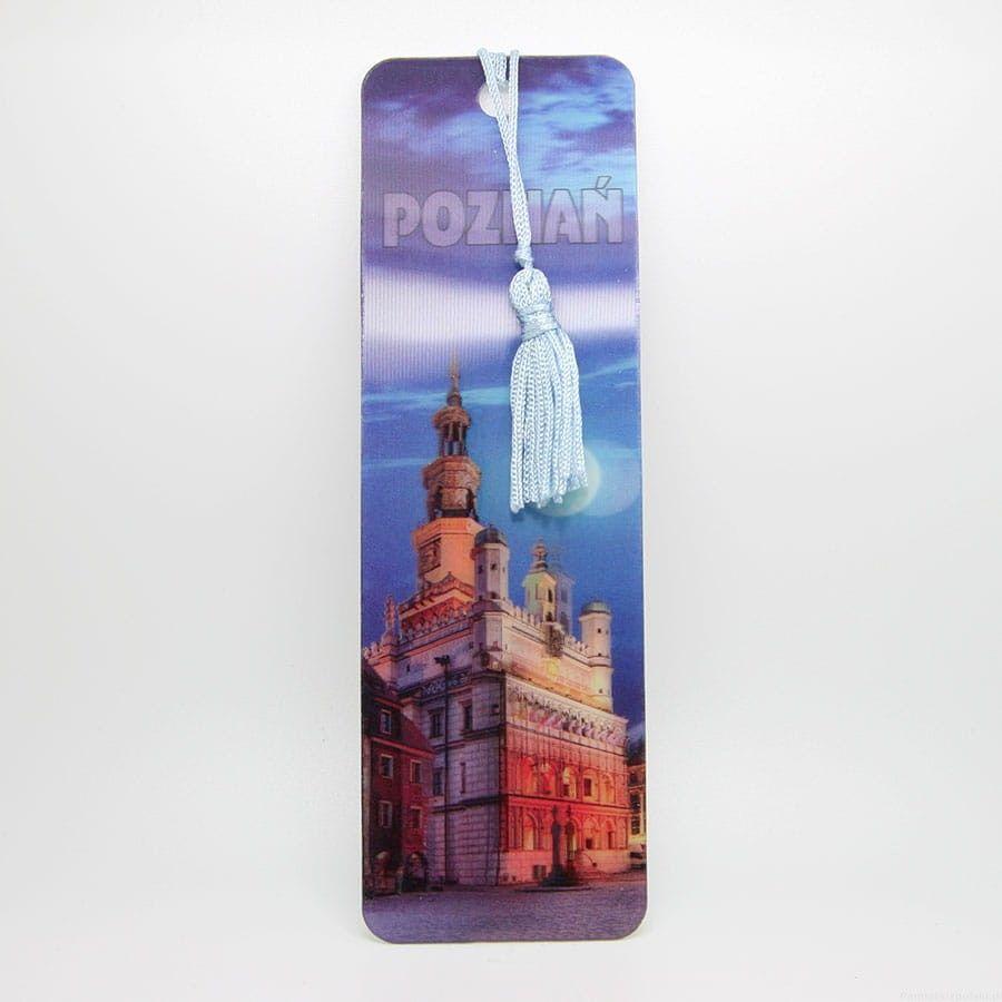 Zakładka do książki 3D - Poznań
