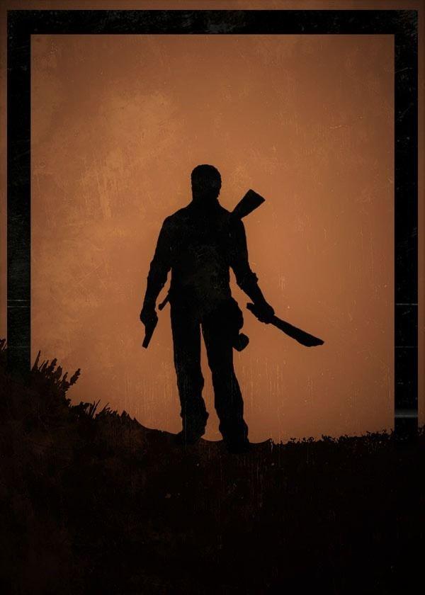 Dawn of heroes - joel, the last of us - plakat wymiar do wyboru: 70x100 cm
