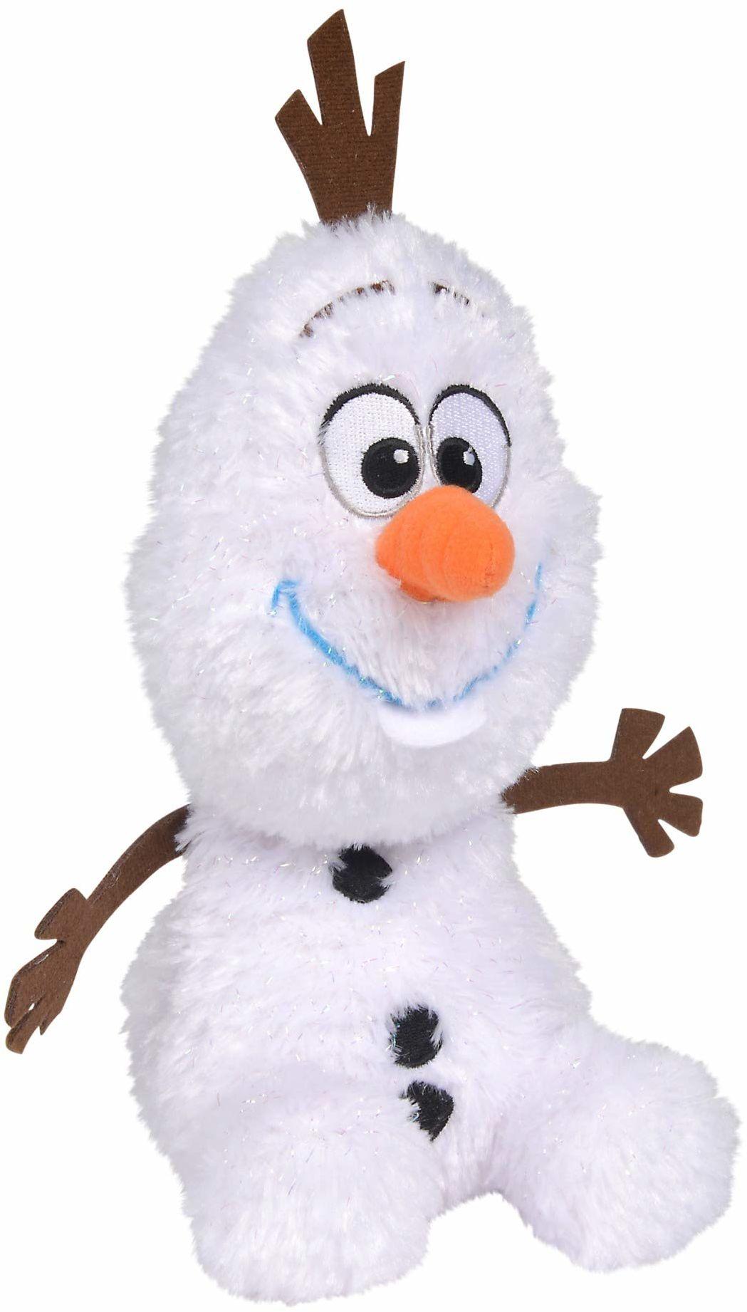 Simba 6315877641 Disney Frozen 2, Maskotka Olaf, 6315877641 25Cm