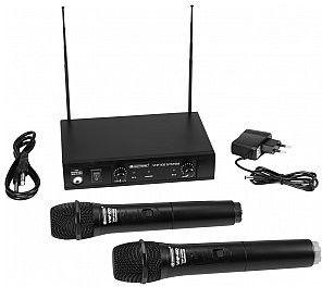 OMNITRONIC VHF-102 Mikrofon bezprzewodowy 209.80/205.75MHz