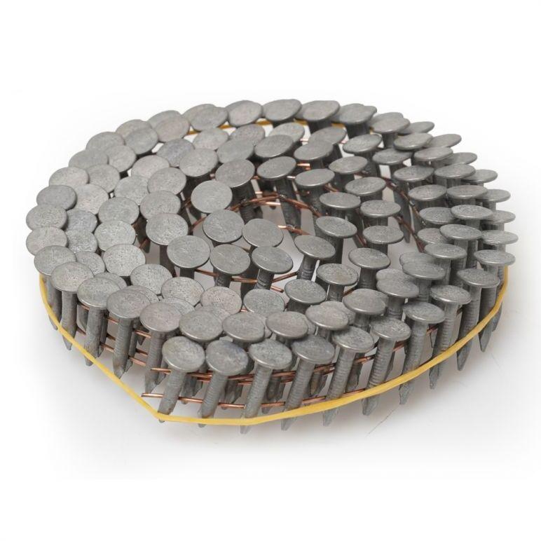 PANSAM Gwoździe papowe bębnowe, papiaki na taśmie 3.0x25mm, 9000szt (60rolek) (A536425)