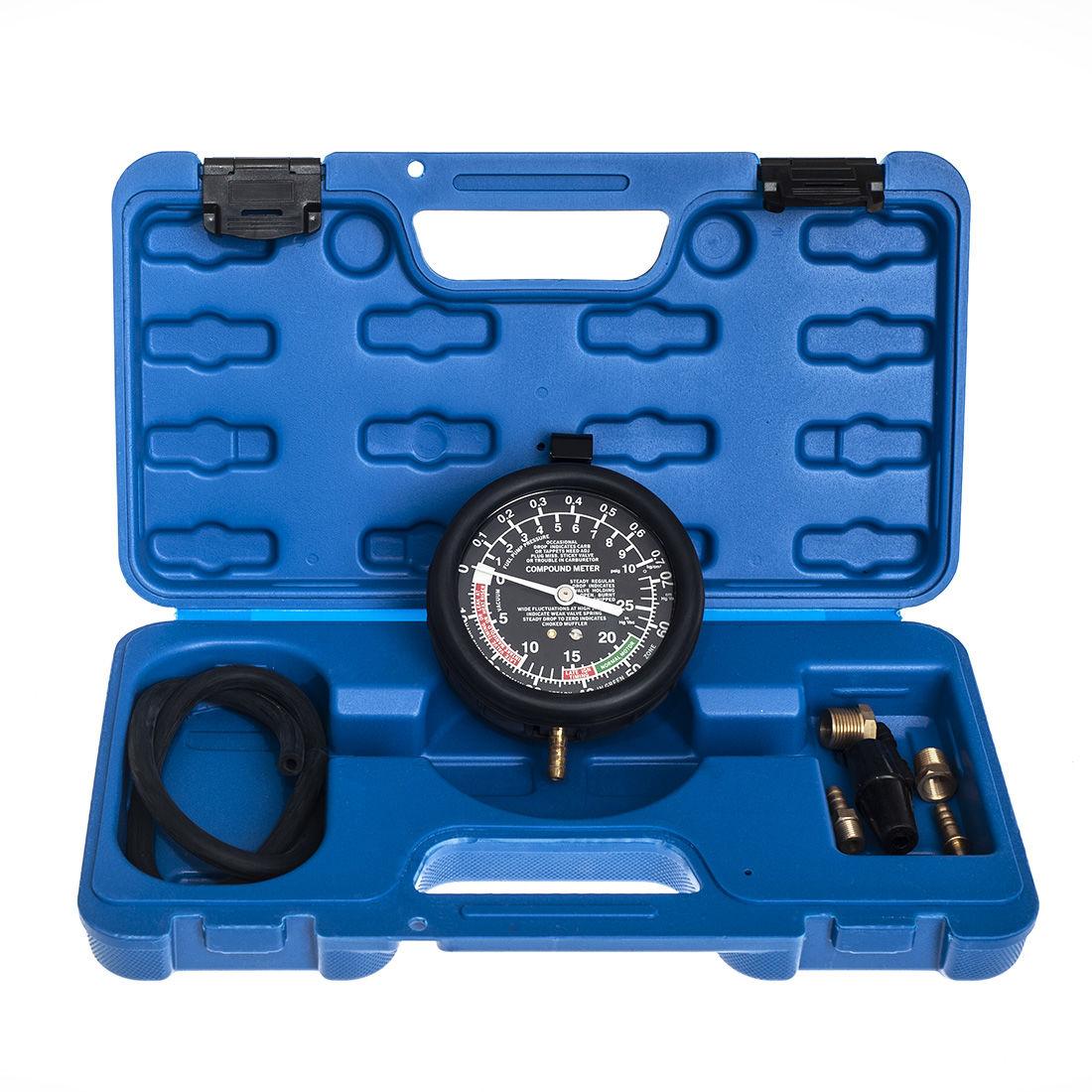 Tester ciśnienia pomp paliwa, wakuometr