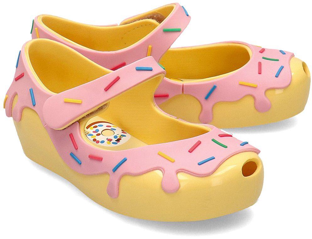 Melissa Ultragirl Donut - Baleriny Dziecięce - 32753 51306 - Żółty