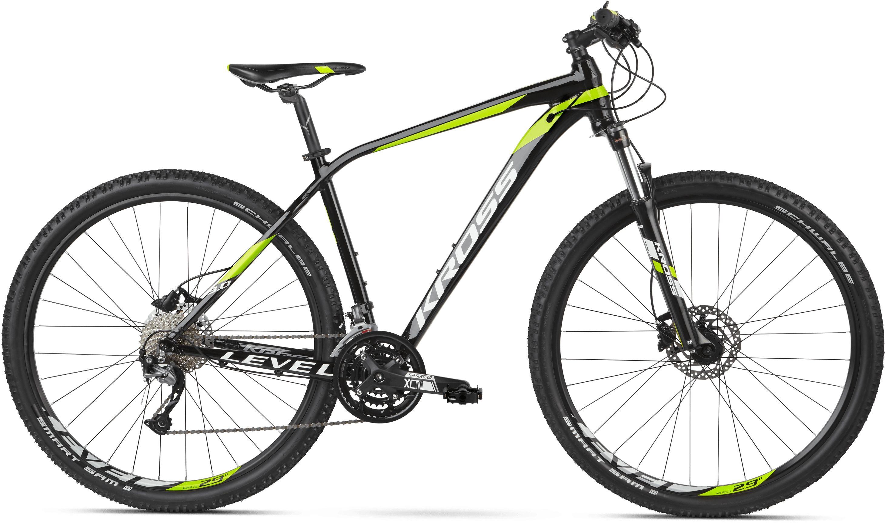 Rower Kross LEVEL 3.0 29 czarno-zielony 2020