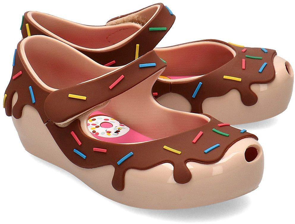 Melissa Ultragirl Donut - Baleriny Dziecięce - 32753 51387 - Brązowy
