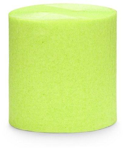 Krepa dekoracyjna j. zielony 5cm 10m 4 szt. KREP1-102J