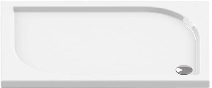 Brodzik prostokątny 100x80 Ideo New Trendy (B-0322)
