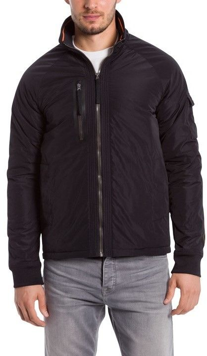 kurtka BENCH - Hybrid Harrington Black Beauty (BK11179