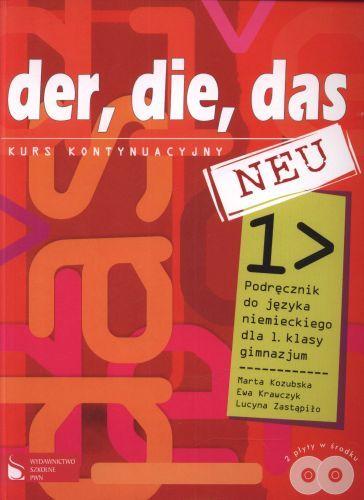 Der die das 1 podręcznik+cd