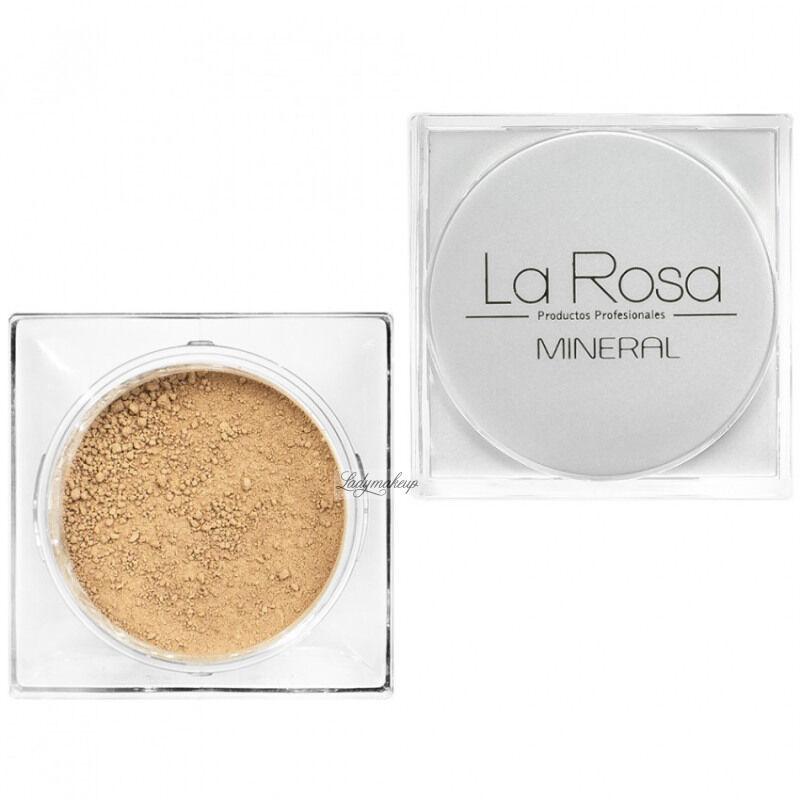 La Rosa - Mineralny podkład w pudrze - 56 VANILLA
