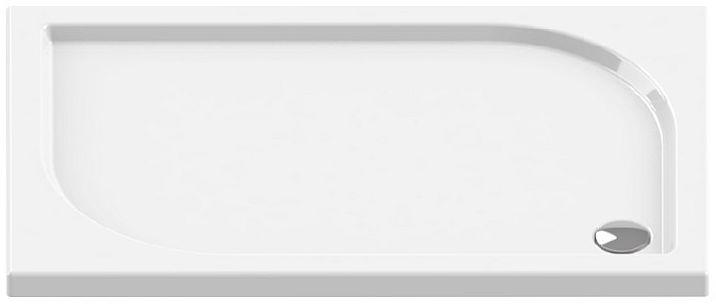 Brodzik prostokątny 120x80 Ideo New Trendy (B-0325)