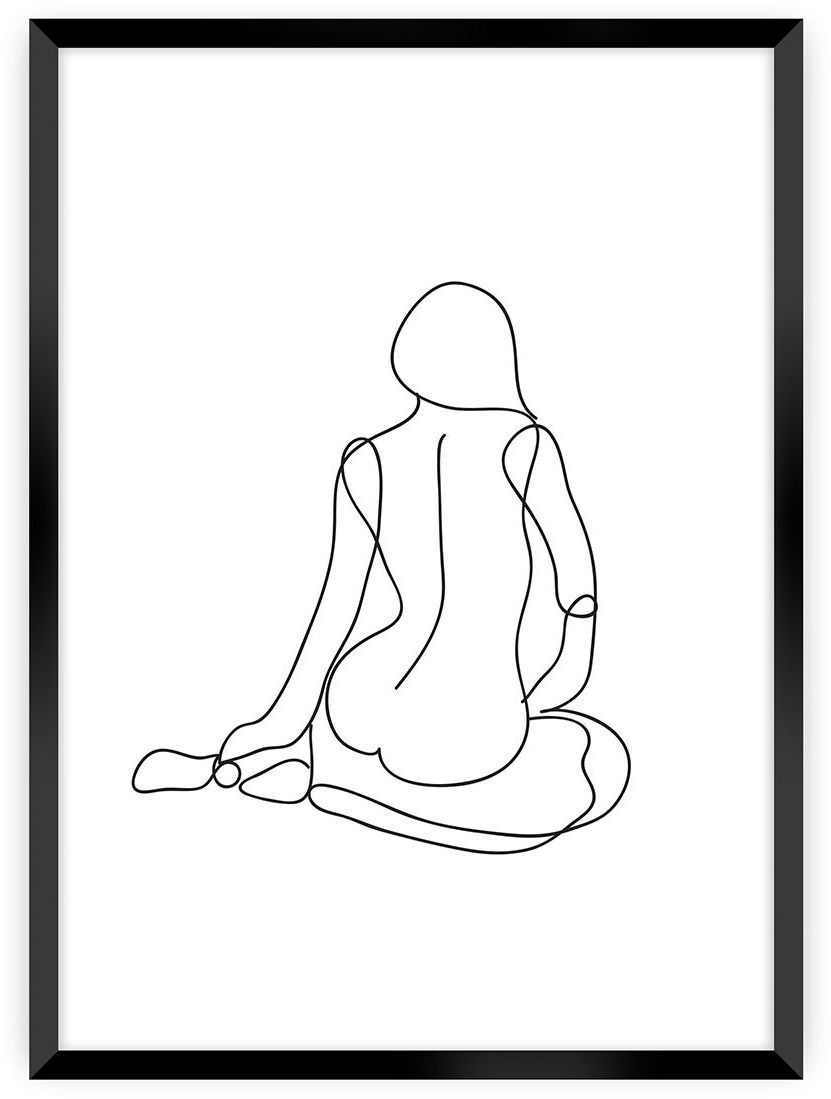 Plakat Figure Line I