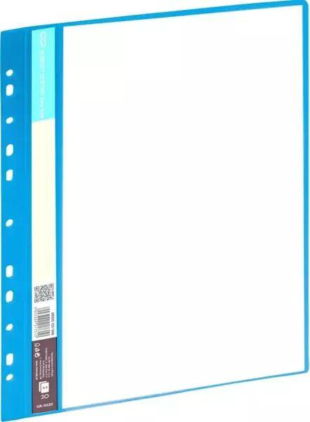 Skoroszyt ofertowy 20 koszulek niebieski GRAND