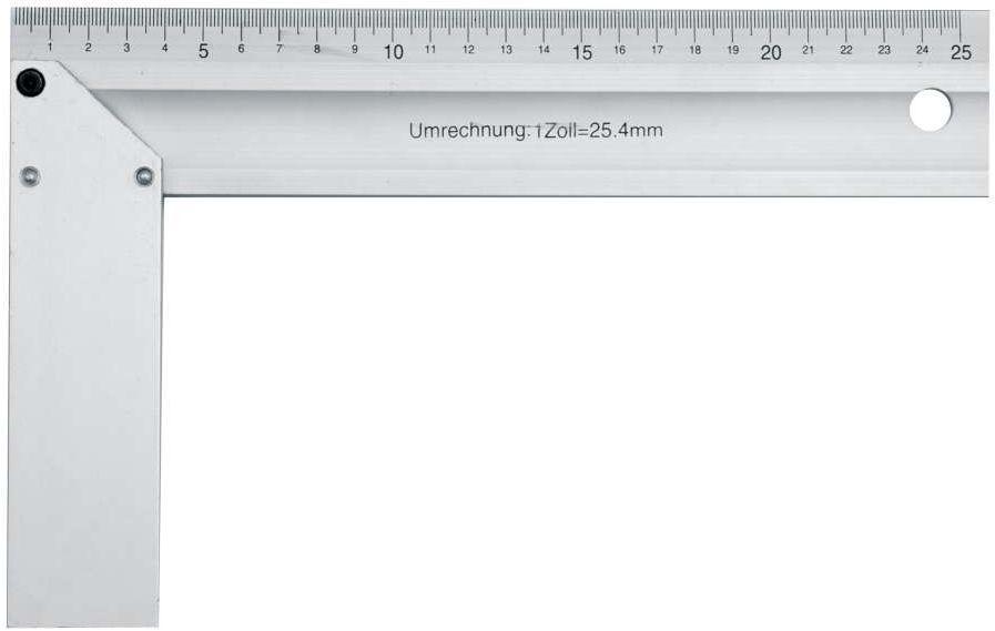 Kątownik aluminiowy 250 mm Vorel 18360 - ZYSKAJ RABAT 30 ZŁ